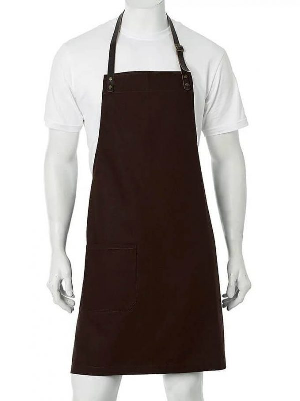 Luca Aprons Promotional Logo A20 Brown