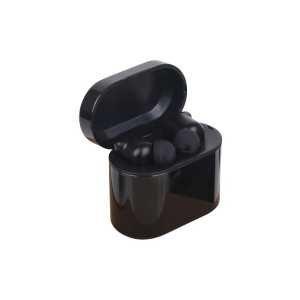 Luxury Cube True wireless Earbuds CAPCT193 Black in Square Case