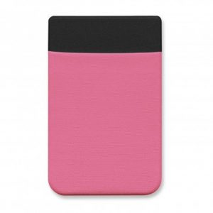 Lycra Phone Wallet Full Colour CA110520 Pink