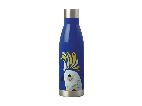 MW Pete Cromer Double Wall Insulated Bottle 500ml JR0 Blue Parrot