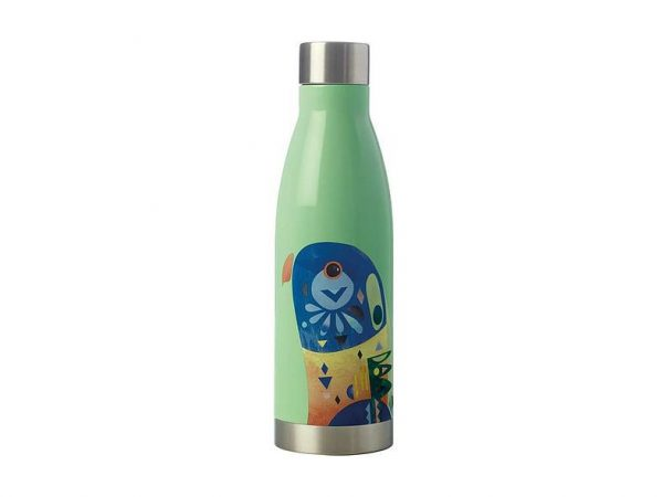 MW Pete Cromer Double Wall Insulated Bottle 500ml JR0 Green Parrot