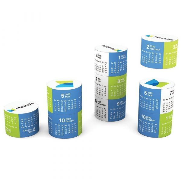 Magnetic 360 Round Calendar A1007MU Various Branding Options 1