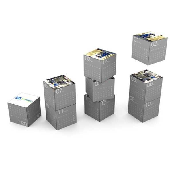 Magnetic 360 Square Calendar A1008MU Various BRanding Options 1