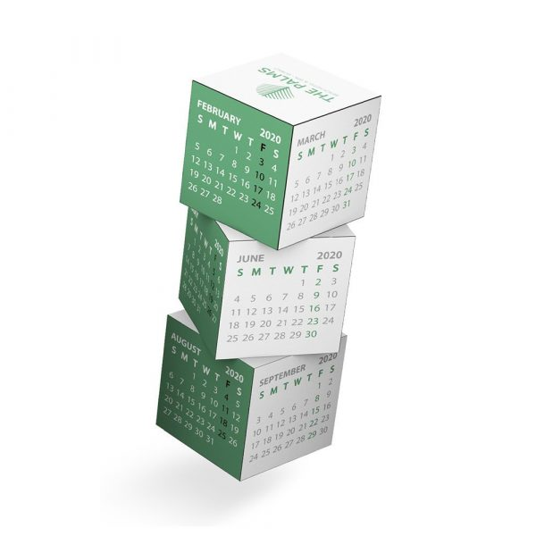 Magnetic 360 Square Calendar A1008MU Various BRanding Options 2