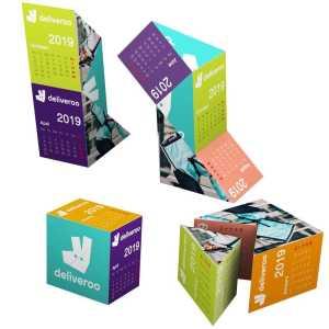 Magnetic Triangle Calendar A1006MU Various Branding Options 2