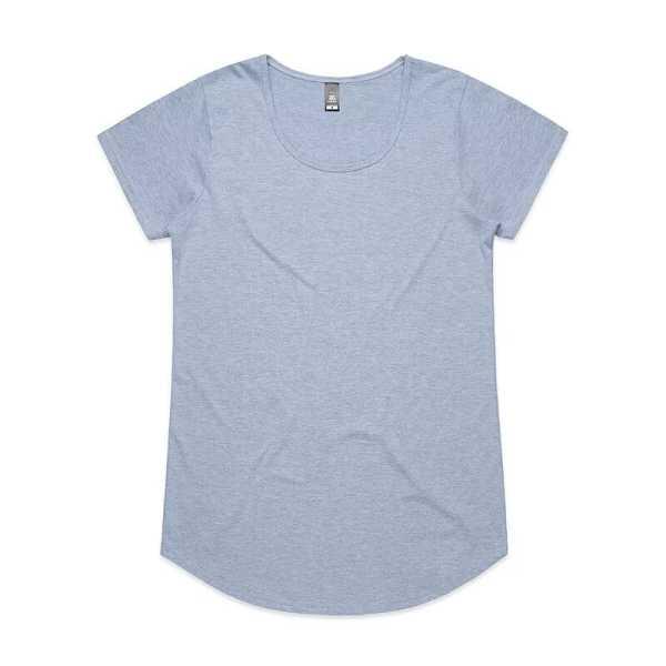 Mali T Shirts Womans 4008 Light Blue