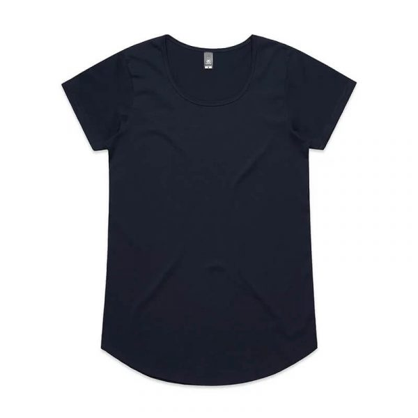 Mali T Shirts Womans 4008 Navy