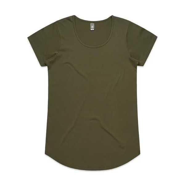 Mali T Shirts Womans 4008 Olive