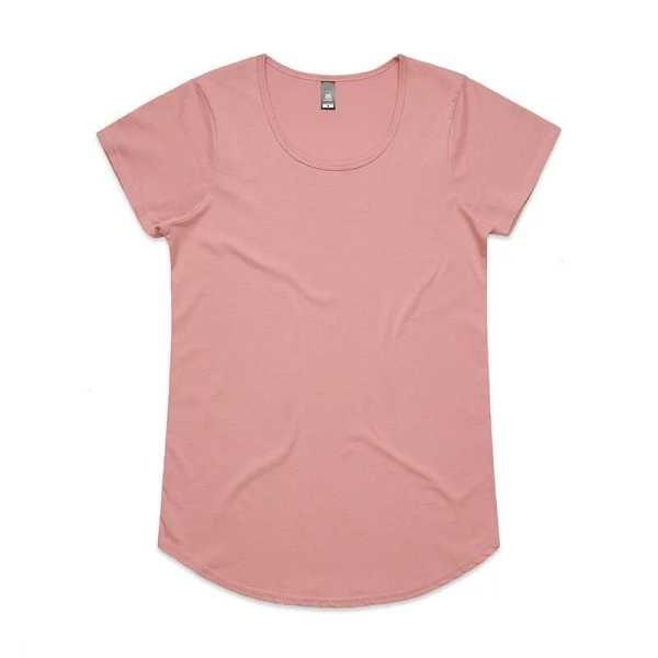 Mali T Shirts Womans 4008 Rose