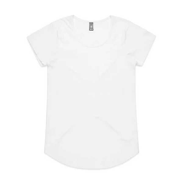 Mali T Shirts Womans 4008 White