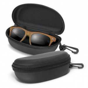 Malibu Premium Sunglasses Heritage CA116745 Wood in Black Case