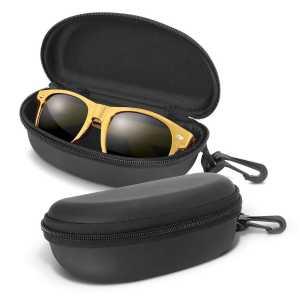 Malibu Premium Sunglasses Metallic CA112026 Gold in Black Case