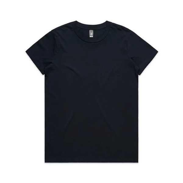 Maple T Shirts Womans 4001 Black