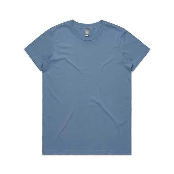 Maple T Shirts Womans 4001 Blue