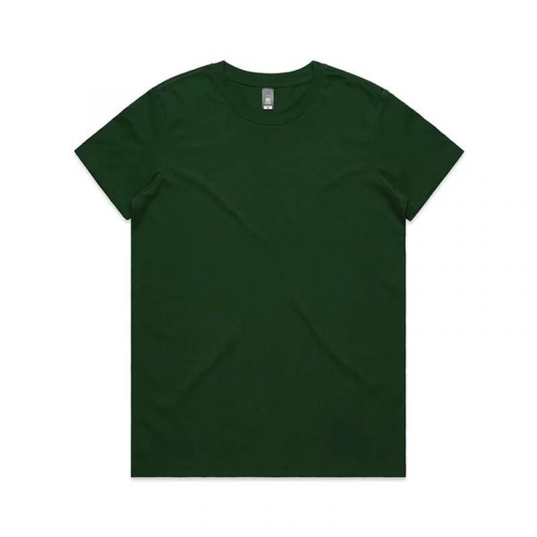 Maple T Shirts Womans 4001 Green