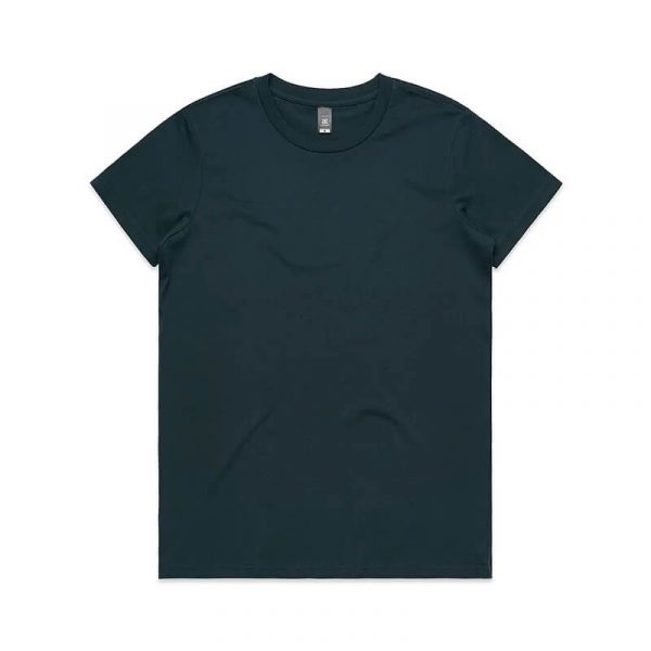 Maple T Shirts Womans 4001 Navy
