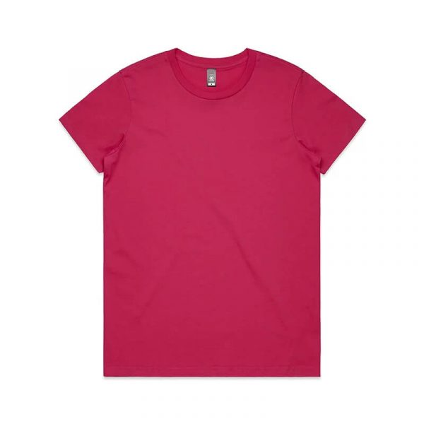 Maple T Shirts Womans 4001 Pink