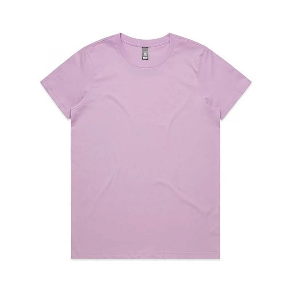 Maple T Shirts Womans 4001 Rose