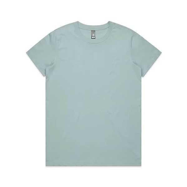 Maple T Shirts Womans 4001 Sage