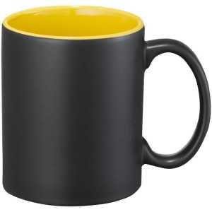 Maya Ceramic Coffee Mugs Yellow