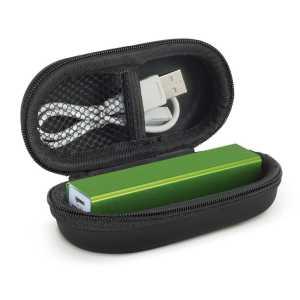 Megatron Power Bank 2200 mAh CA115541 Green in Black Case