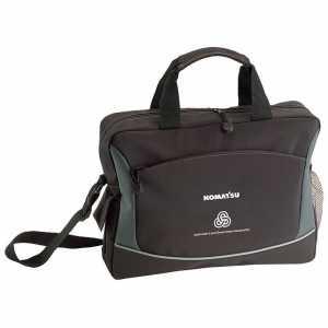 Microfiber Conference Messenger Satchel Bag 5127BK Black