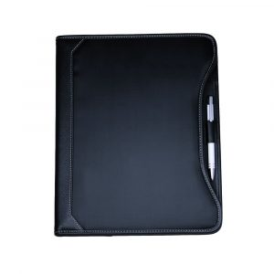 Microfibre A4 Pad Cover 560BK Black Front