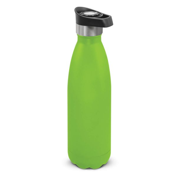 Mirage Powder Coated Vacumm Drink Bottle 116329 Lime Green