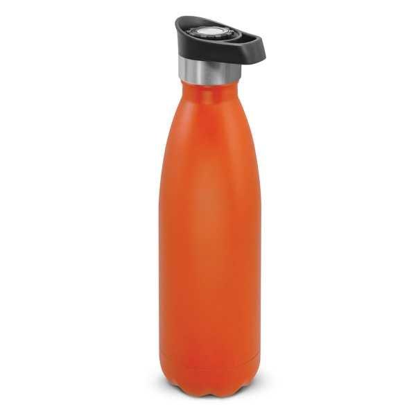 Mirage Powder Coated Vacumm Drink Bottle 116329 Orange