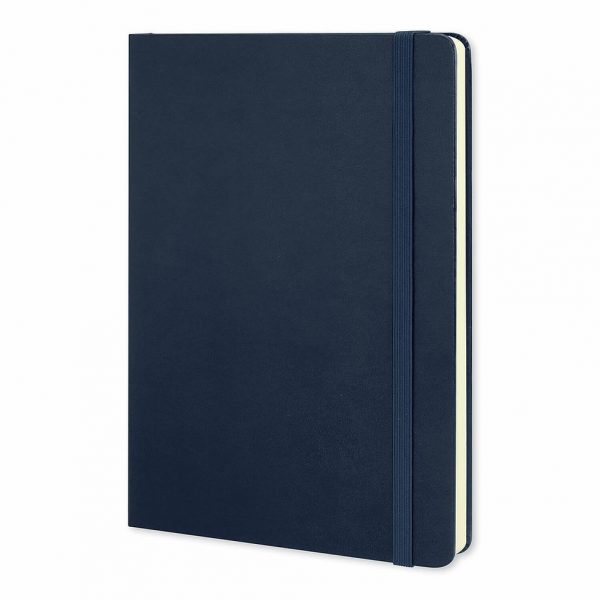 Moleskine® Classic Hard Cover Notebook Large 117221 Navy