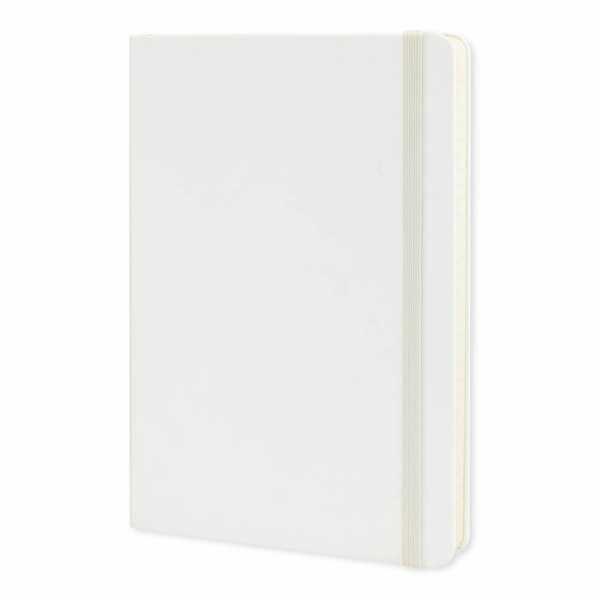 Moleskine® Classic Hard Cover Notebook Large 117221 White
