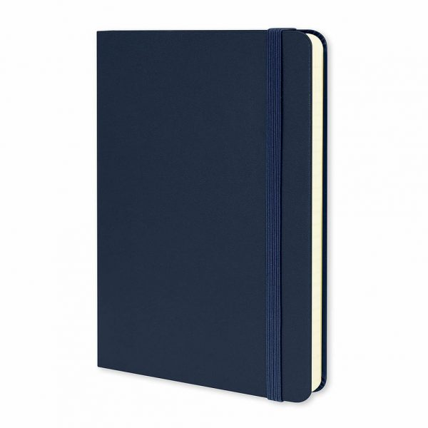 Moleskine® Classic Hard Cover Notebook Medium 117222 Blue
