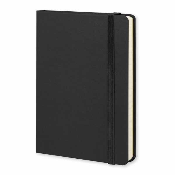 Moleskine® Classic Hard Cover Notebook Pocket 117216 Black