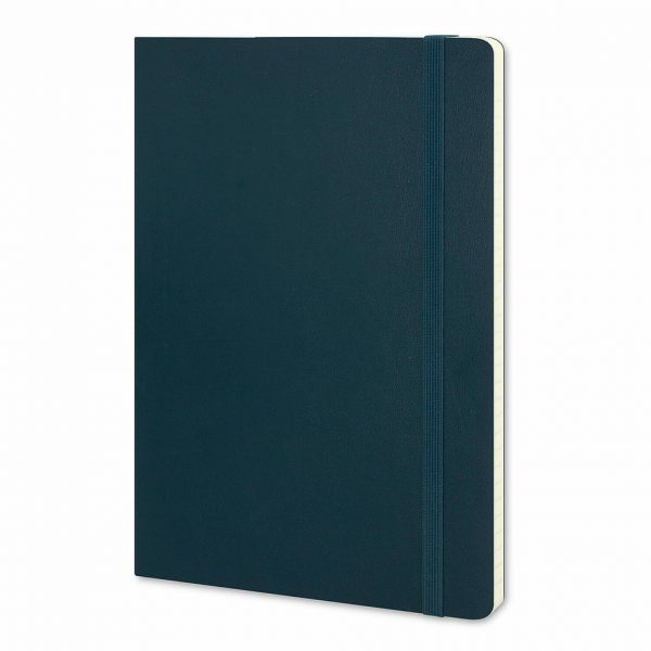 Moleskine® Classic Soft Cover Notebook Large CA117223 Blue