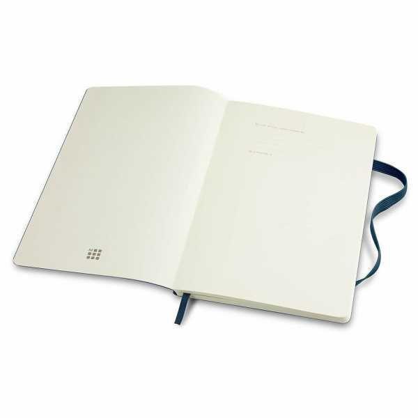 Moleskine® Classic Soft Cover Notebook Large CA117223 Open