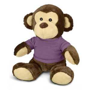 Monkey Plush Toy CA117862 Purple