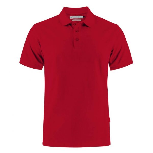 Neptune Modern Polo Shirts Mens T002 Red