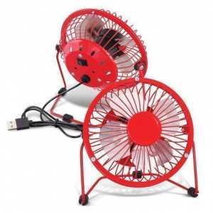 Nexion Desk Fan CA116561 Red