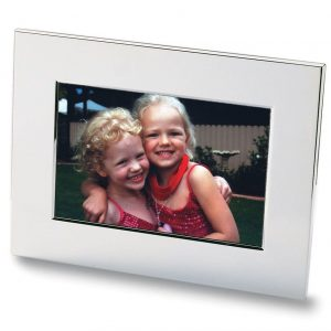 Nickel Plated Photo Frame 8811SL Silver