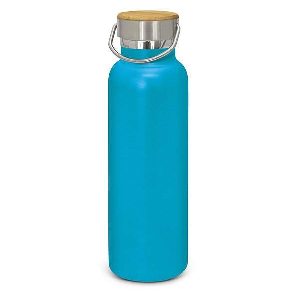 Nomad Deco Vacuum Drink Bottle Powder Coated 115848 Light Blue