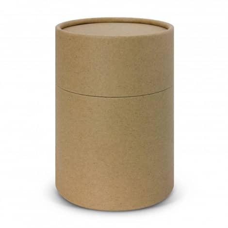 Nova Cup Borosilicate 350ml Logo Promotional Reusable Coffee Cup 117372 gift tube natural