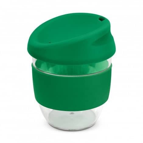 Nova Cup Tritan Clear Plastic 230ml Logo Promotional Reusable Coffee Cup 200307 Green