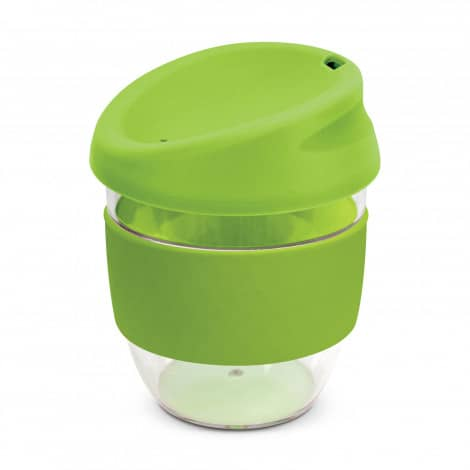 Nova Cup Tritan Clear Plastic 230ml Logo Promotional Reusable Coffee Cup 200307 Lime Green