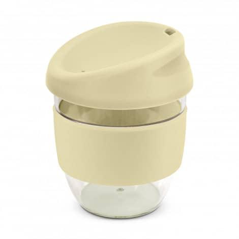 Nova Cup Tritan Clear Plastic 230ml Logo Promotional Reusable Coffee Cup 200307 Natural