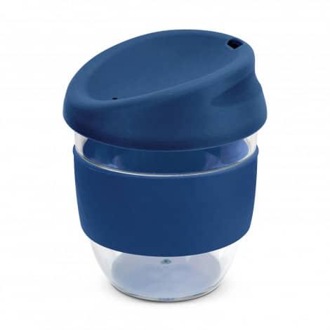 Nova Cup Tritan Clear Plastic 230ml Logo Promotional Reusable Coffee Cup 200307 Navy