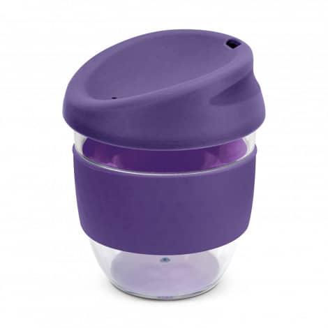 Nova Cup Tritan Clear Plastic 230ml Logo Promotional Reusable Coffee Cup 200307 Purple