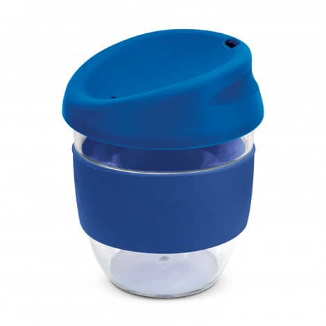 Nova Cup Tritan Clear Plastic 230ml Logo Promotional Reusable Coffee Cup 200307Dark Blue
