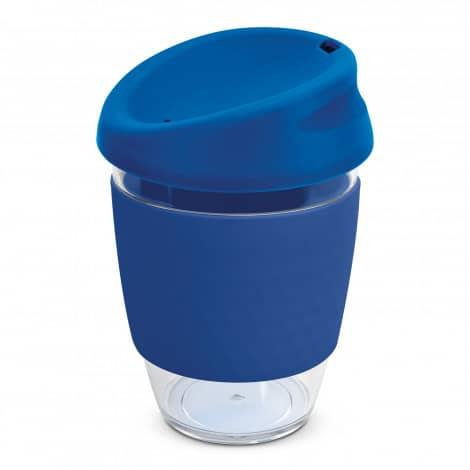 Nova Cup Tritan Clear Plastic 340ml Logo Promotional Reusable Coffee Cup 200306 Dark Blue