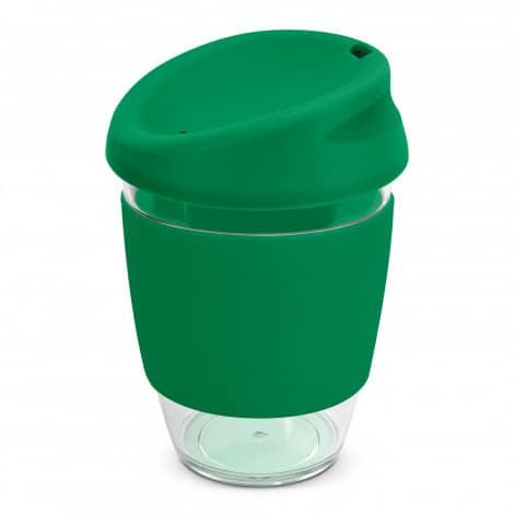 Nova Cup Tritan Clear Plastic 340ml Logo Promotional Reusable Coffee Cup 200306 Green