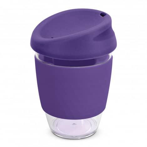 Nova Cup Tritan Clear Plastic 340ml Logo Promotional Reusable Coffee Cup 200306 Purple